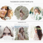 Facebook Cover Template for Photographers, Collage Templates, Facebook Cover PSD