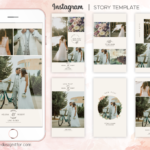 Instagram Stories Templates for Wedding Photographers