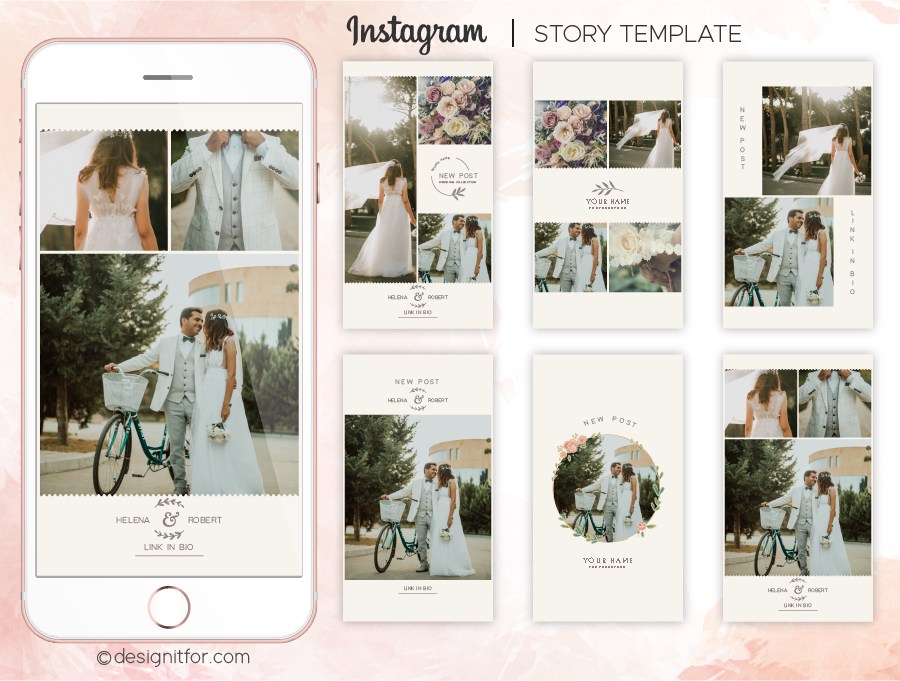25 instagram story templates   100% free download.