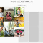 Photo Collage Templates, PSD Template for Photographer ,16×16