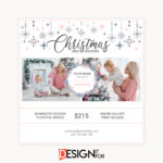 Christmas Mini Session Template, Digital Photography Marketing Board, Holiday mini session template, Christmas mini sessions