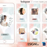 Instagram Stories Template Bundle,Templates for Photographers, Instant Download