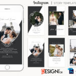 Wedding Instagram Stories Template, instagram story template bundle