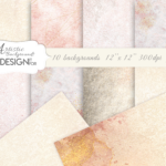 Artistic Background, watercolor textured, digital papers, sepia, gold, pink, beige, elegant textures, scrapbook, watercolor backgrounds