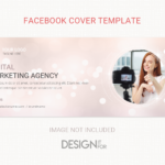 Digital marketing corporate facebook cover template, Collage Facebook Cover Template for Business, Facebook Cover Templates