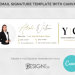 Email Signature Template logo , Real Estate email signature , Realtor Email Signature , Corporate E-mail signature, Gmail Signature Business
