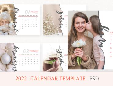 2022 calendar template